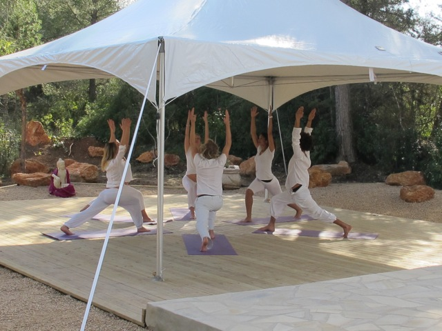 Go with your Flow yoga retreats, Ibiza