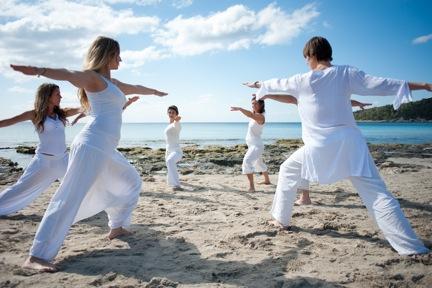 Yoga on Playa Las Salinas